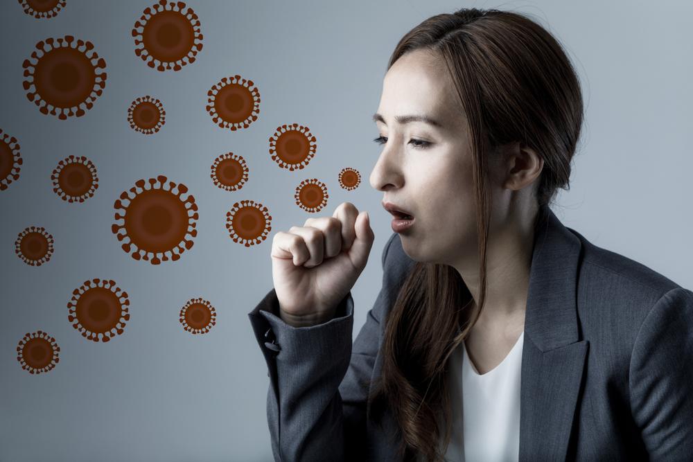 空気感染が広がっている